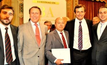 Atilio Franco recibió el decreto que lo nombra juez