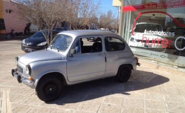 Ya está a la venta la rifa del 'Fiat 600' de la escuela Nº502