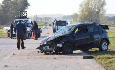 Grave accidente en la ruta 226: Una mujer falleció y otra permanece herida tras un vuelco