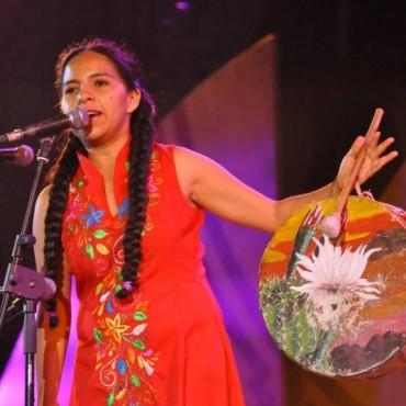 Mariana Carrizo dará un recital didáctico y se proyectará el video clip de  'Doña Ubenza' en el Cine