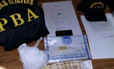 Secuestro de cocaína en Azul