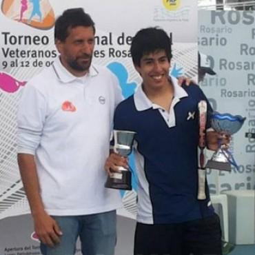 Federico Chingotto, campeón y mejor jugador en Rosario