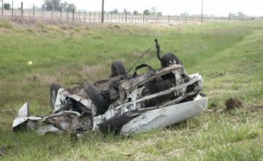 Bragado: Encontraron a un automovilista fallecido, a la vera de la Ruta Nacional N°5