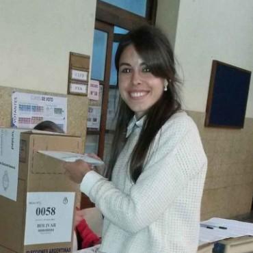 Candidata a Diputada Provincial: Votó María Laura Rodríguez