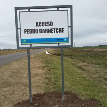 Despiste sin consecuencia en el acceso Don Pedro Barnetche
