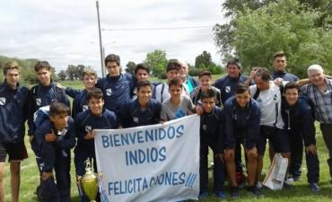 Llegaron desde Colombia los chicos del Club Independiente