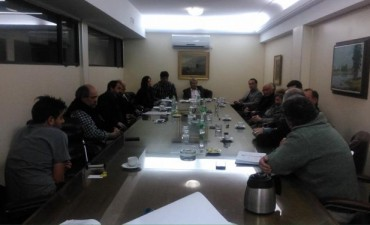 Integrantes de la Cámara Comercial se reunieron con parte de los Funcionarios Municipales