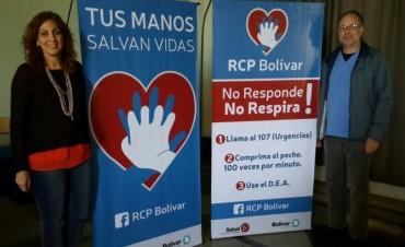 Se realizó el curso RCP en Bolívar