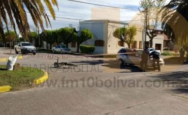 Accidente en Belgrano y Falucho: Armando Codesal fue hospitalizado