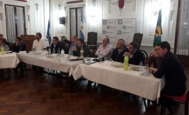 El municipio participó de la reunión del comité de Cuenca del Salado