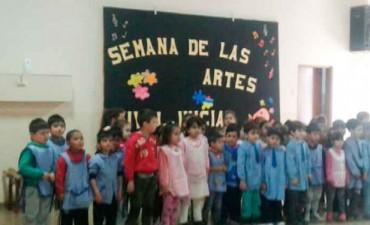 El Jardín N°904 es sede de la 'Semana de las Artes'