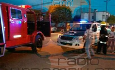 Dos jóvenes con heridas de consideración en un accidente