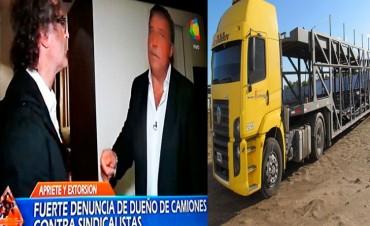 Juan Carlos González: 'Me pidieron un millón de pesos para que mis camiones pudieran trabajar'