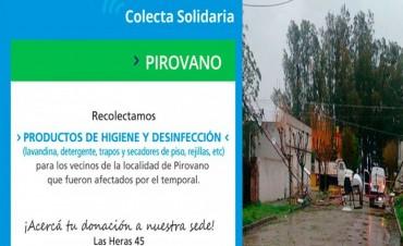 Cámara Comercial De Bolívar: Proponen una colecta solidaria para Pirovano