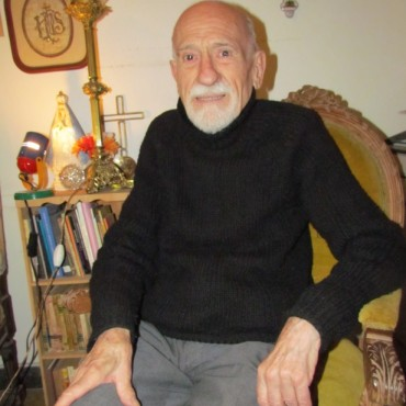 Hoy el Padre Abel Urrutia cumple 40 años de sacerdocio