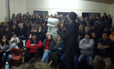 Barrio Los Zorzales: más de 400 vecinos firmaron a favor de las obras
