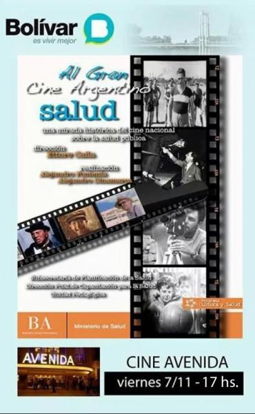 """""""Al gran cine argentino, salud"""", en el Cine Avenida"""