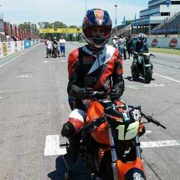 Motociclismo: Andrés Justel terminó 7º en el Gálvez