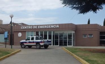 Urdampilleta: Trasladaron a Bolívar a una joven accidentada