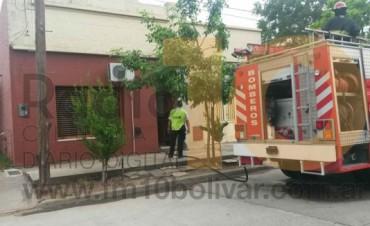 Incendio en una vivienda en Chiclana 366