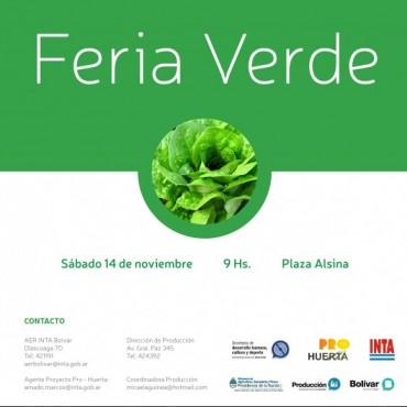 Se viene otra edición de la Feria Verde