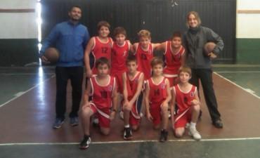 Básquet masculino: Sport Club recibió a Racing de Lamadrid