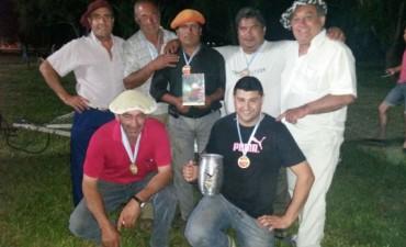 El gran ganador de la 'Primera Fiesta Regional del Asado con Cuero', fue Villamanca