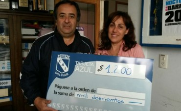La 'Tarjeta Azul' del Club Independiente entregó los premios del mes de octubre