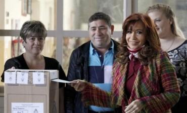 Votó Cristina Kirchner: