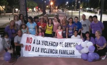 Este miércoles se realizó la jornada de concientización en el Día Internacional de la Eliminación de la Violencia contra la Mujer