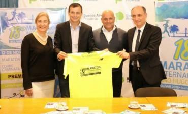 Maratón 'Dino Hugo Tinelli': Se realizó el lanzamiento oficial en Capital Federal