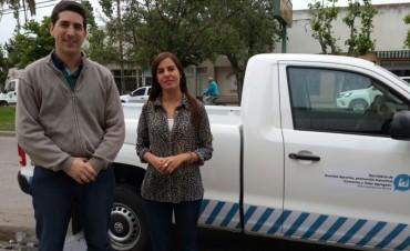 Secretaría de Asuntos Agrarios:Presentaron una camioneta nueva para su trabajo diario