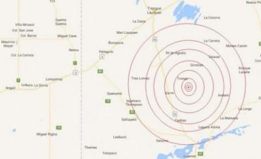 ¡Se mueve el suelo en la zona!: Sismo de magnitud 4 en la región