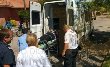 Accidente de tránsito: Una persona resultó con lesiones leves a raíz de una colisión
