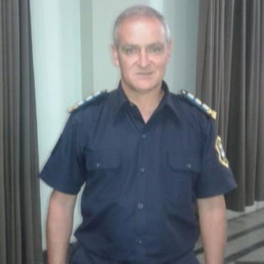 Seguridad: El Jefe de la Superintendencia Policial de Seguridad Rural y del Interior Centro visitó Bolívar