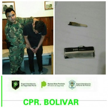 CPR: Tres prófugos, infracción a la ley de droga, y un automóvil secuestrado