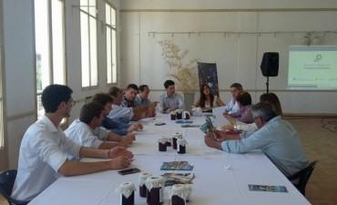 Bolívar participó de la reunión de la Zona de Crecimiento Común en 25 de Mayo