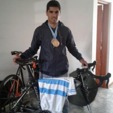 Juan Ignacio Vicente se quedó con el Campeonato Argentino de Ciclismo Adaptado