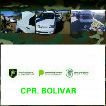 CPR: Infracciones a dos ciudadanos y vehículo secuestrado por estar dentro de un establecimiento rural sin permiso