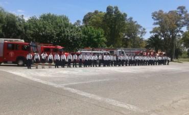 Cronograma de Festejos: El Cuartel de Bomberos Voluntarios Nº62 de Bolívar cumple 60 años de vida