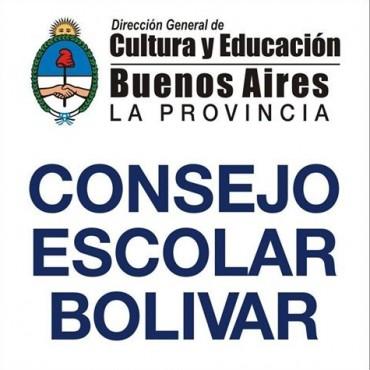 ¡Atención! Novedades desde el Consejo Escolar de Bolívar