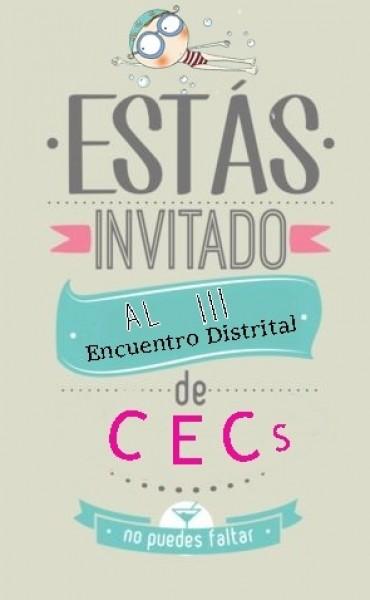 Este viernes 2 de noviembre es el III Encuentro Distrital de Centros Educativos Complementarios