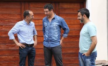 Marcos Pisano recorrió las obras para barrio Calfucurá