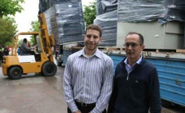 Marcos Pisano gestiona dos Generadores de Energía