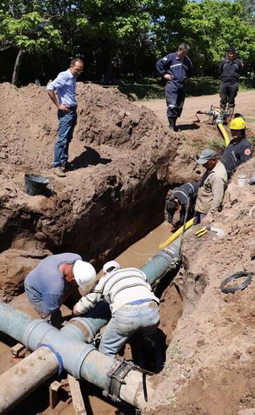 Obras Sanitarias: Este sábado y el lunes habrá cortes programados de agua