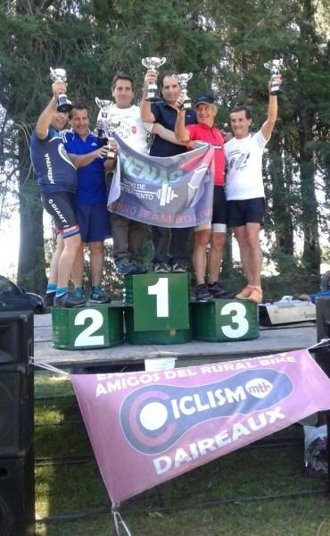 Lucio Capiello y Juan Moraca ganaron el Campeonato Duatlón de Daireaux