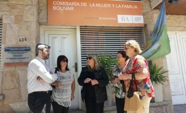 Concejales realizaron denuncia por Violencia de Género en el HCD