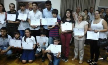 Rotary Club premió a los mejores compañeros