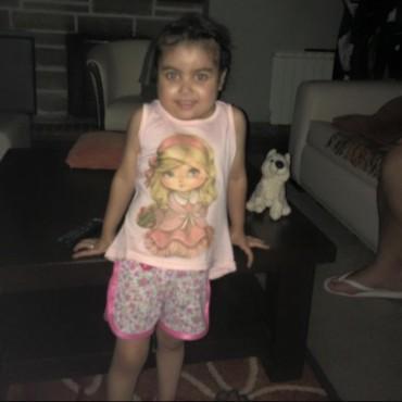 Pilar Dadante pasó las fiestas con su familia en Bolívar