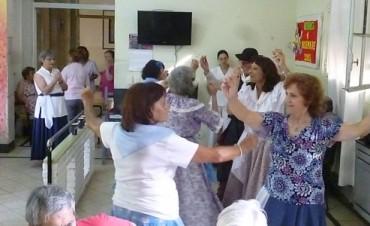 Casa Hogar Municipal: Festejaron los cumpleaños de los adultos mayores